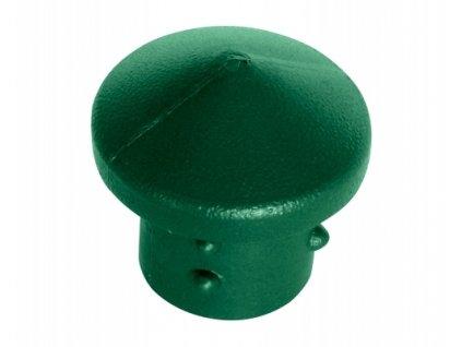 """Čepička PVC 6/4"""" - zelená"""