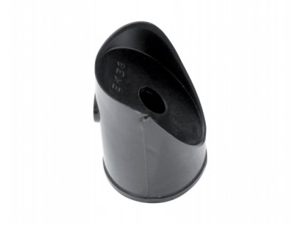 Koncovka na vzpěru (PVC), černá - 38 mm