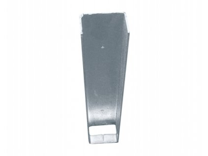 Držák podhrabové desky ZN (zinkovaný) - koncový, výška 20 cm