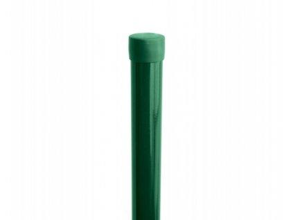 Sloupek ZELENÝ (ZN+PVC), pr. 48 mm - 175 cm