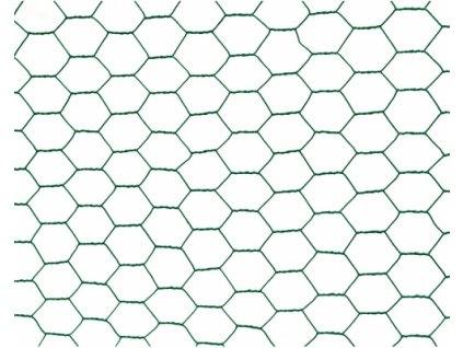 Chovatelské pletivo ŠESTIHRANNÉ (ZN+PVC)