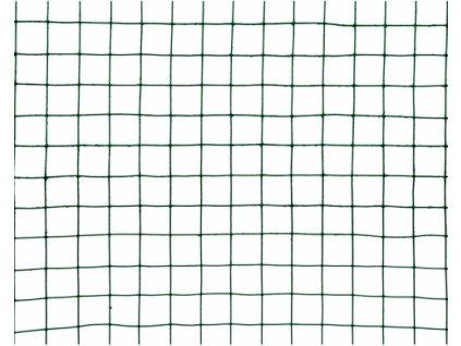 Chovatelská svařovaná síť (ZN+PVC) - oko 19×19 mm, výška 50 cm, role 5 m. Poplastovaná svařovaná síť pro chovatele vhodná jako ochrana proti škůdcům,