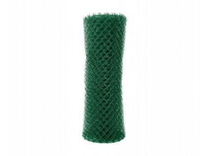 Čtyřhranné pletivo ZELENÉ (ZN+PVC)