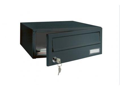 Poštovní schránka ELM MZ černá