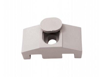 Příchytka PVC pro panely SUPER - ŠEDÁ