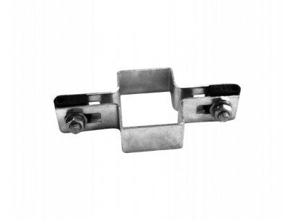 Průběžná objímka na sloupek 60x40 mm - ZN