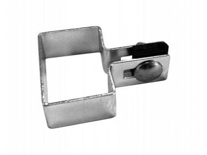 Koncová příchytka na sloupek 60 ×40 mm - ZN