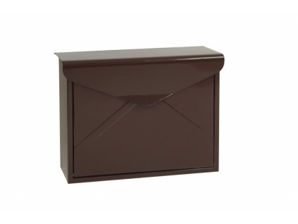 Poštovní schránka BK57.Z.H - hnědá