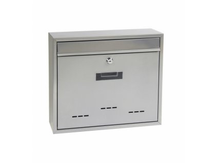 Poštovní schránka BK.31D.S - stříbrná