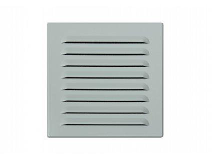 DOMYS e-shop: Stavební, fasádní průvětrník bílá 150x150 mm