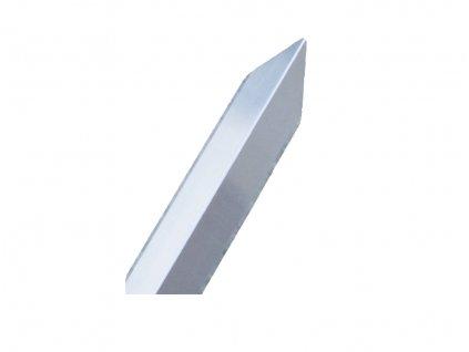 Ochranný roh zdiva z hliníkového plechu 1m - hliník