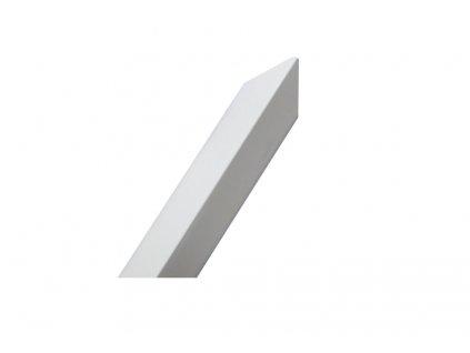 Ochranný roh zdiva z hliníkového plechu 1m - bílá