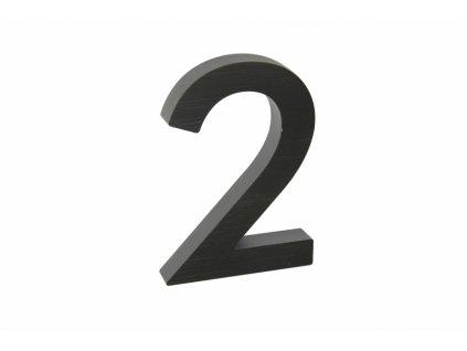 Domovní číslo - 2, ČERNÉ 3D