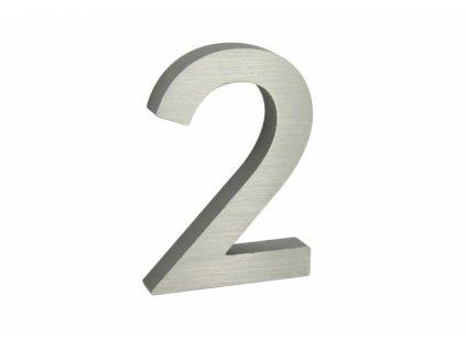 Domovní číslo - 2, STŘÍBRNÉ 3D