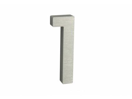 Domovní číslo - 1, STŘÍBRNÉ 3D