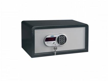 Nábytkový elektronický sejf TRAVELLER 1, společný klíč
