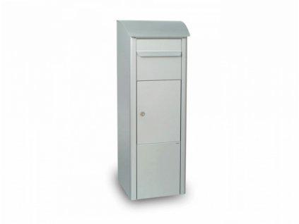 Poštovní schránka BEECH - stříbrná