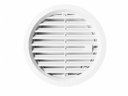Větrací mřížka kruhová uzavíratelná 125 bílá