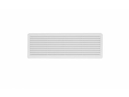 Větrací mřížka dveřní 400x130 bílá (balení 2ks)
