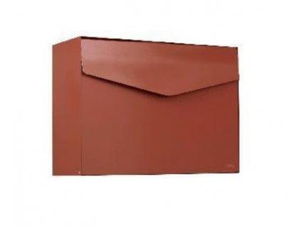 Poštovní schránka Mefa Letter - hnědá měd