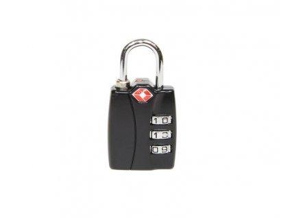 Kódový, cestovní TSA visací zámek s indikátorem otevření - RV.TSA.12022.C