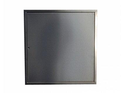 Nerezová revizní dvířka LIGHT - 60x50 cm