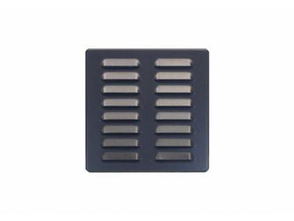 DOMYS e-shop: Větrací mřížka ANTRACIT ZN 190x190 mm