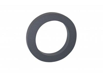 Domovní číslo - 0, ANTRACIT 3D, 100 mm
