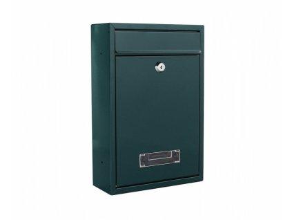 DOMYS e-shop: Poštovní schránka TARVIS zelená