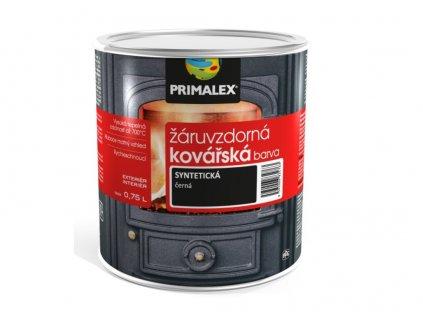 žáruvzdorná kovářská barva černá primalex 0,75
