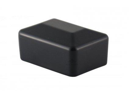 DOMYS e-shop: Čepička na sloupek 60x40 mm PVC - černá