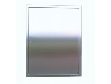 DOMYS e-shop: Nerezová revizní dvířka LIGHT - 58,5x75 cm