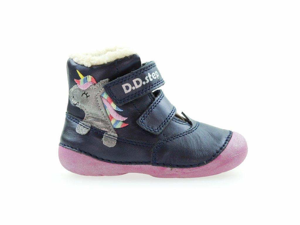 zimní vyteplené boty pro holky