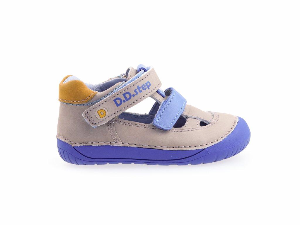 kožené barefoot sandály pro kluky