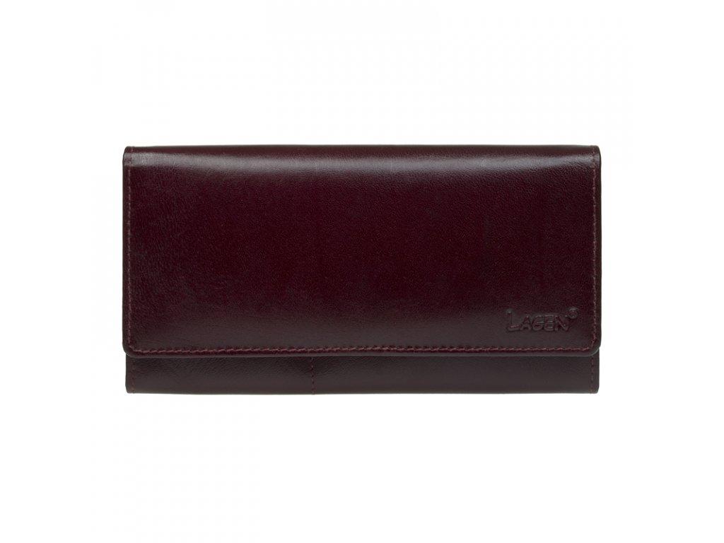 dámská vínová peněženka