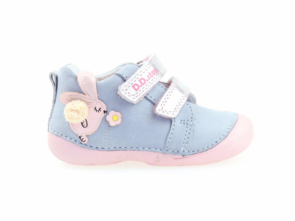 kožené boty na holčičku