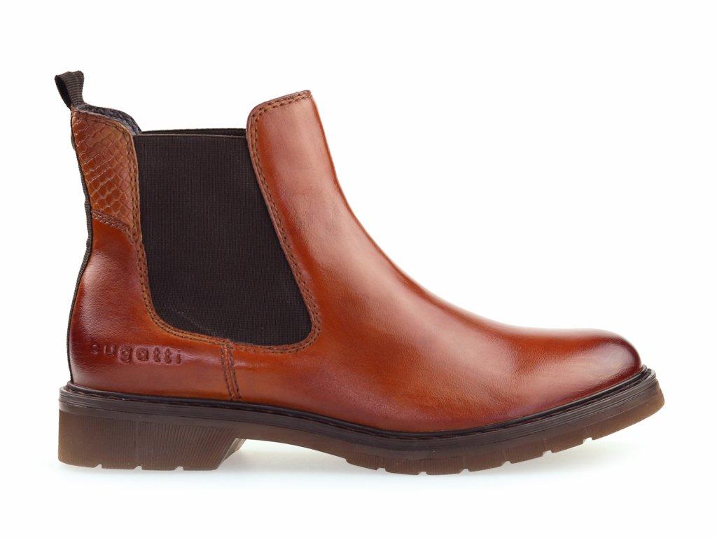 dámské hnědé chelsea boots