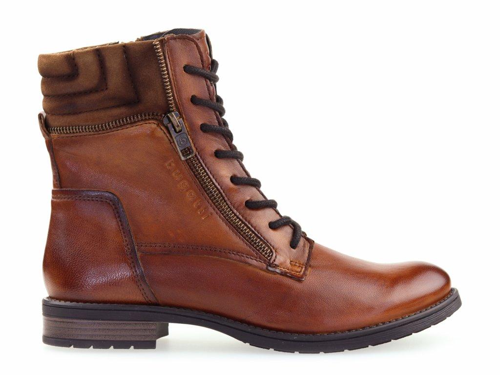 hnědé dámské boty