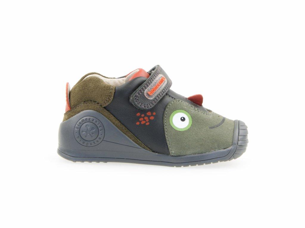 Biomecanics kožené kotníkové boty pro kluky