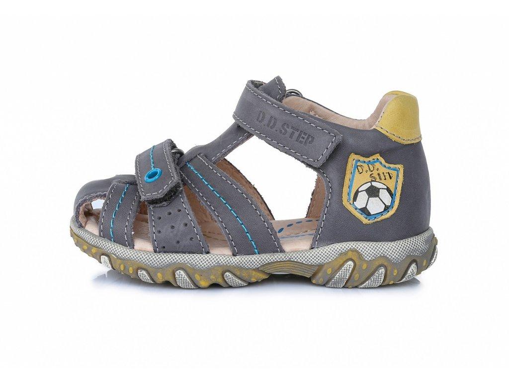 chlapecké kožené sandály