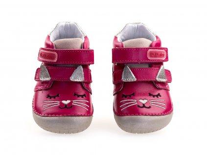 barefoot kotníkové boty