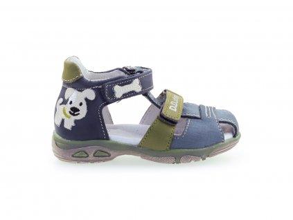 kožené sandály pro kluky