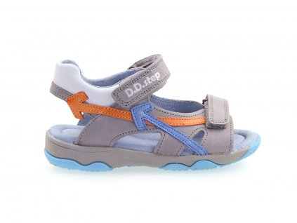 šedé chlapecké sandály