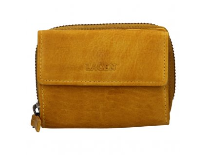 malá žlutá peněženka