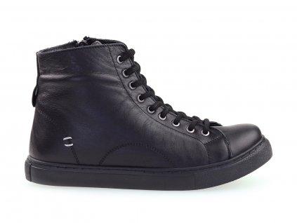 Looke, dámské kotníkové boty, černé