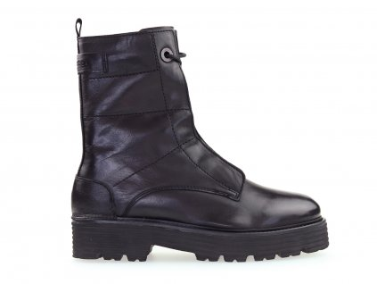 dámské kotníkové boty na platformě