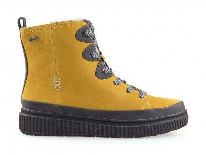 dámské kožené boty na zimu