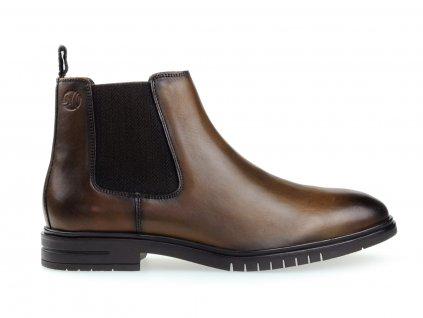 pánské kožené podzimní boty