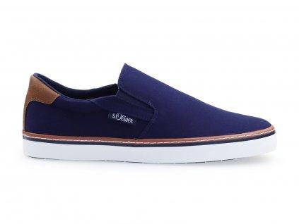 modré letní boty pro pány