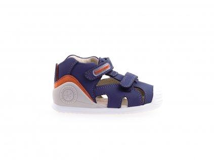 kožené sandály na suchý zip